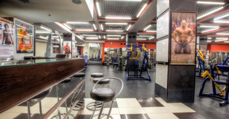 Сеть фитнес-центров, Москва